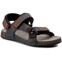 Sandały - mi18-672-01 czarny marki Lasocki for men