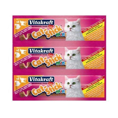 cat stick mini - przysmak dla kota smak: indyk/baranina 3szt./18g marki Vitakraft