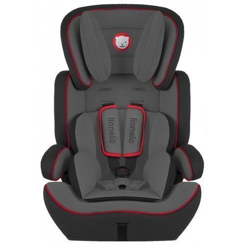 Fotelik 9-36 kg levi plus czarno-czerwony marki Lionelo