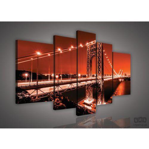 Obraz most w nowym jorku - brooklin bridge ps628s4a marki Consalnet