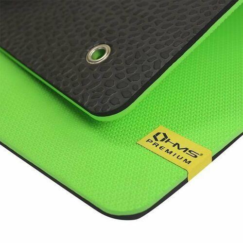 Mata fitness z otworami mfk01 - zielony marki Hms