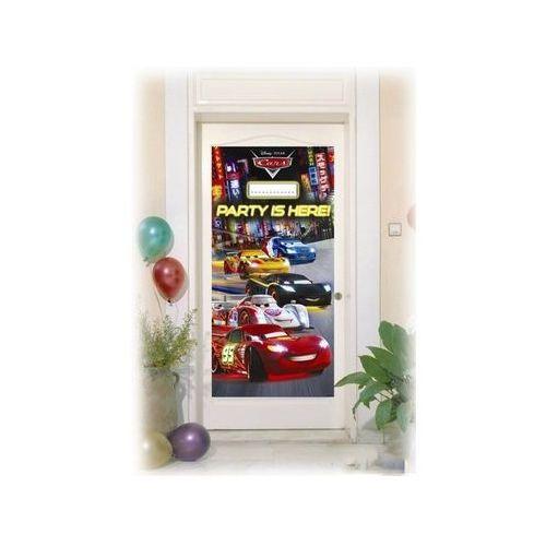 Dekoracja foliowa na drzwi Cars Neon - 152 x 76 cm - 1 szt. - sprawdź w wybranym sklepie