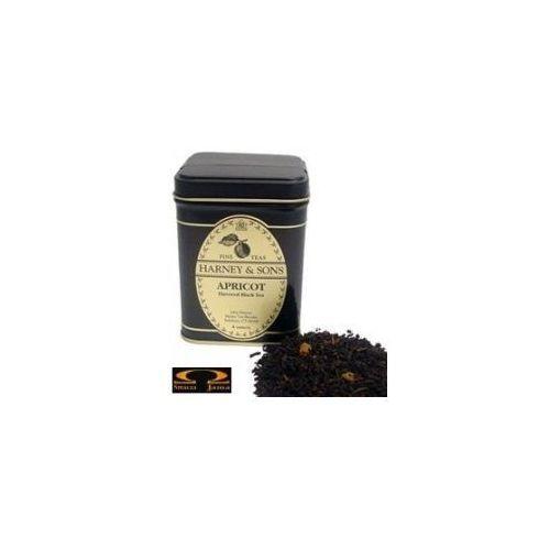 Harney & sons Herbata  apricot herbata liściasta aromatyzowana, puszka 198g