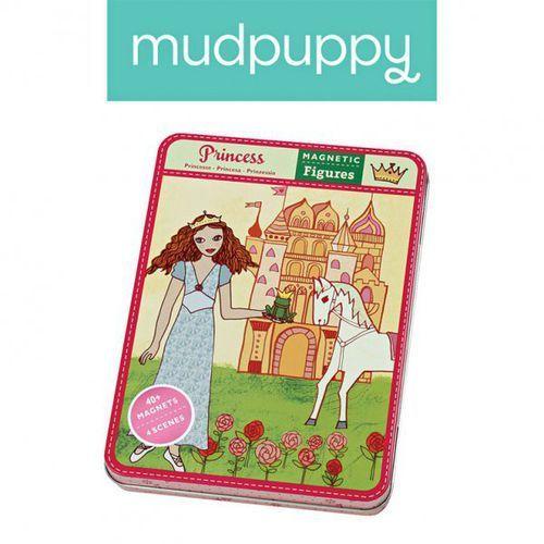 Mudpuppy  magnetyczne postacie księżniczki 6+