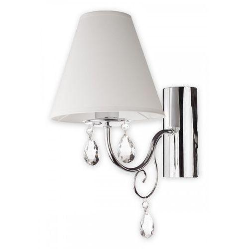 Kinkiet lampa ścienna Lemir Velio 1X60W E27 chrom O1960 CH BIA
