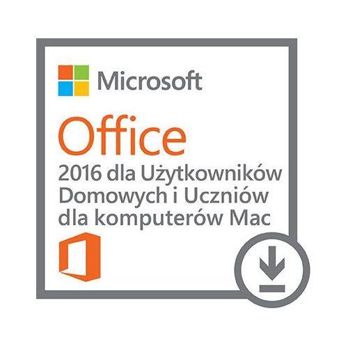 Kod aktywacyjny MICROSOFT Office 2016 MAC dla Użytkowników Domowych i Uczniów