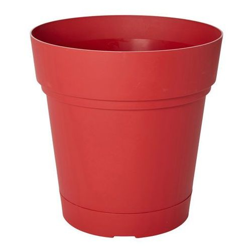 Blooma Donica okrągła nurgul z nawadnianiem 58 cm czerwona