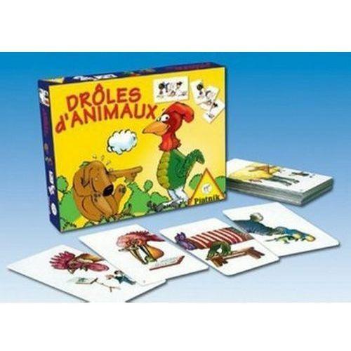 Piatnik Gra śmieszne zwierzęta