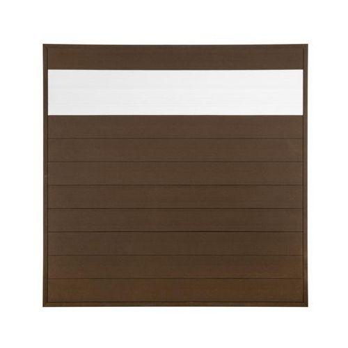 Winfloor Płot kompozytowy 173x173 cm brązowy wpc