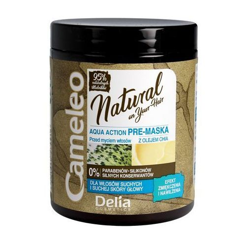 Delia Cosmetics Cameleo Natural Aqua Action Pre-Maska nawilżająca z olejem Chia 250ml