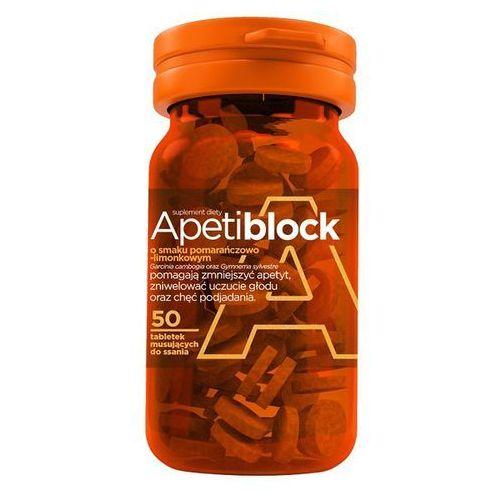 APETIBLOCK smak pomarańczowo limonkowy 50 tabletek musujących