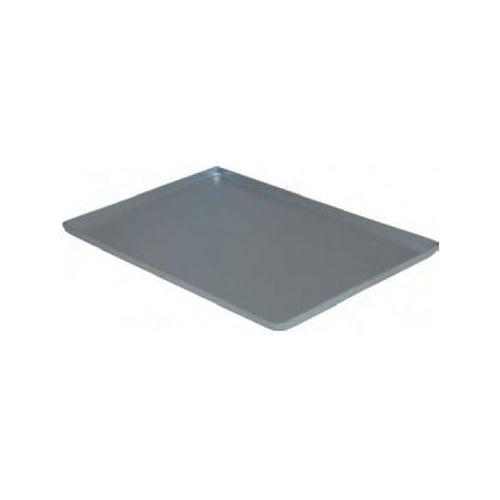Taca aluminiowa srebrna z 3 rantami