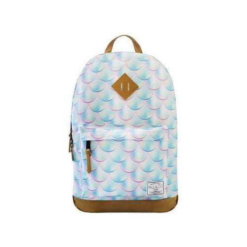 Plecak łuski błękitny marki Incood.