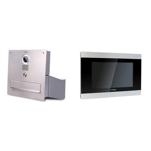 Vidos Wideodomofon skrzynka na listy s551-sk z monitorem m903s