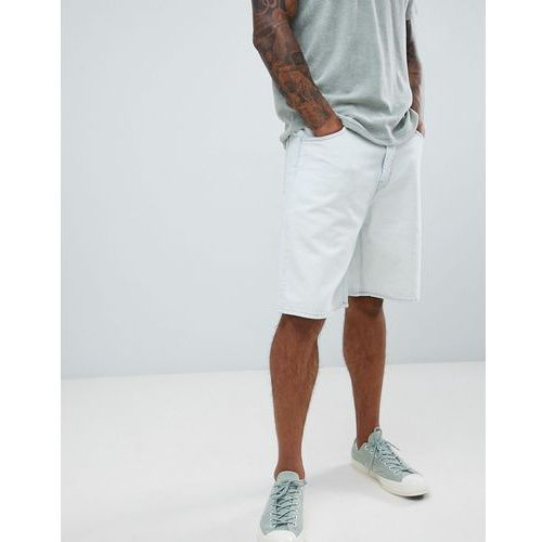 Weekday Relay Denim Shorts Bleached - Blue