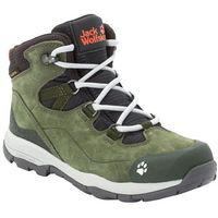 Jack wolfskin Buty trekkingowe dla dzieci mtn attack 3 lt texapore mid k khaki / phantom - 26 (4060477438283)