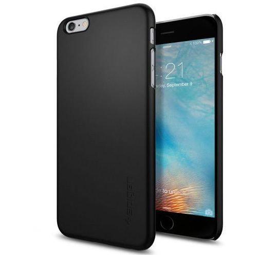 thin fit etui iphone 6 plus/ 6s plus czarne marki Spigen