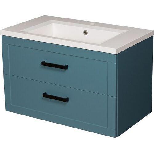 Gante Niebieska szafka z umywalką 80/46 seria meiva n ✖️autoryzowany dystrybutor✖️