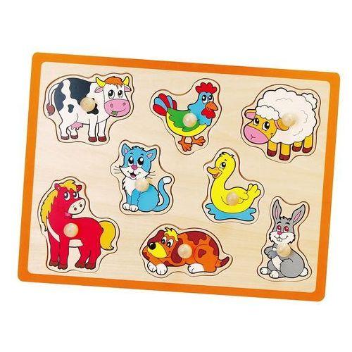 Viga 50017 drewniane puzzle: zwierzątka gospodarskie