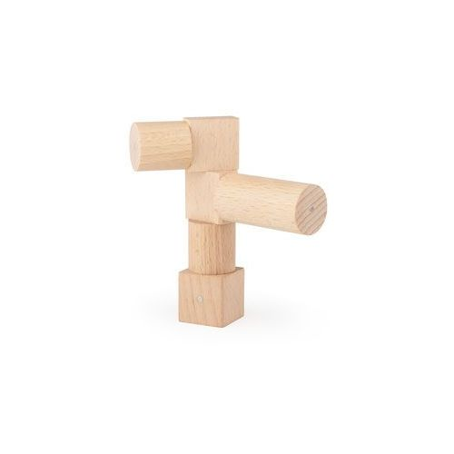 Drewniane klocki magnetyczne  mega natural 100 el. marki Kooglo