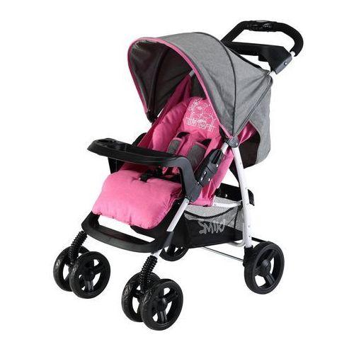 Smiki, Chill, wózek spacerowy, Pink - produkt z kategorii- Wózki spacerowe