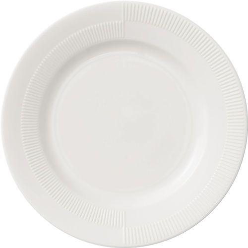Talerzyk porcelanowy Duet 19 cm, biały - Rosendahl