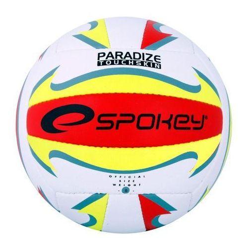 Piłka siatkowa paradize czerwono/żółto/zielono/biała 837394 marki Spokey