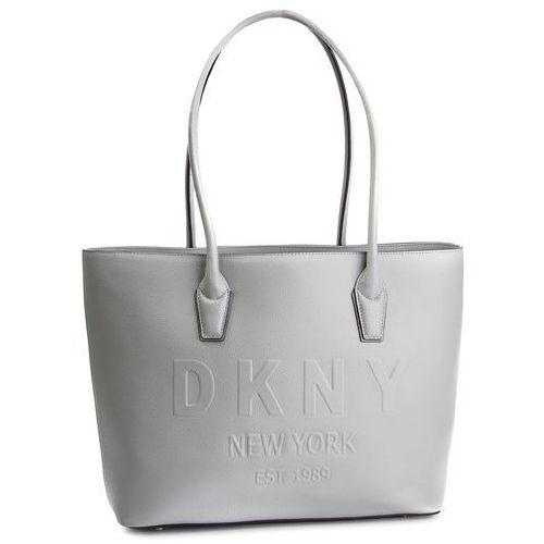 Torebka - hutton-md satchel-pe r84av845 grey melange grg marki Dkny