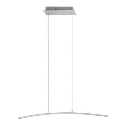 Lampa wisząca zwis addison 1x21w led szczotkowane aluminium 5759 marki Rabalux