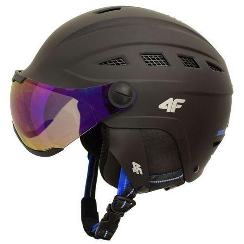 4f Kask narciarski h4z17 ksu002 czarny s 55-56 cm