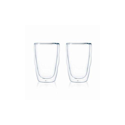 Szklanki termiczne 2 szt Pilatus Bodum 0,35l przezroczysty