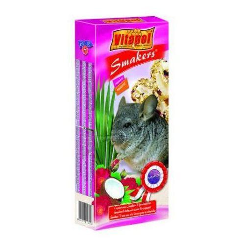 VITAPOL Smakers kolby dla szynszyli kokosowo-różane 2szt., kup u jednego z partnerów