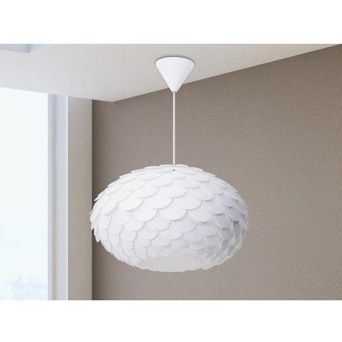 Lampa biała - sufitowa - żyrandol - lampa wisząca - ERGES (7081453893763)