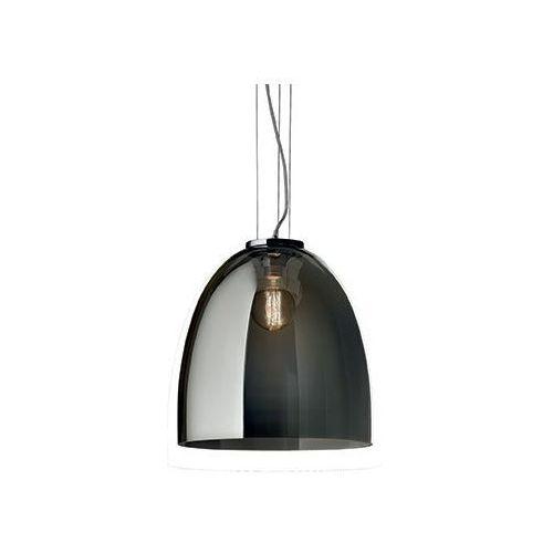 Lampa wisząca eva sp1 small przydymione szkło, 101101 marki Ideal-lux
