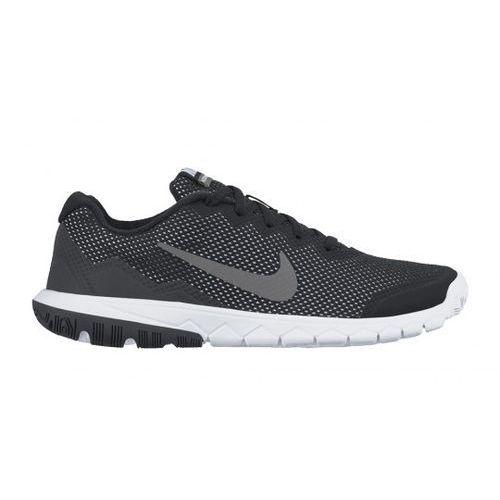 Nike Performance FLEX EXPERIENCE 4 Obuwie do biegania Lekkość black/metallic dark grey/anthracite/white z kategorii buty sportowe dla dzieci