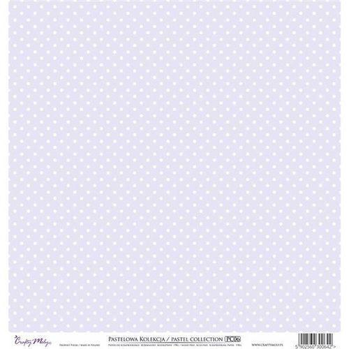 Ozdobny papier 30,5x30,5 cm - fioletowy - fio marki Crafty moly