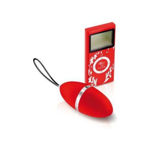 Jajeczko wibrujące Plaisirs Secrets - Vibrating Egg Red, PS002A