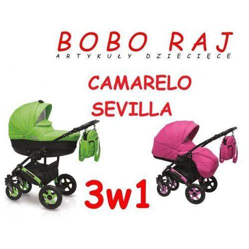 Camarelo Wózek głęboko-spacerowy firmy model sevilla+fotelik pebble 0-13 kg