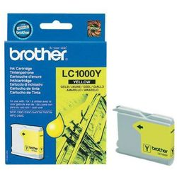 Brother oryginalny ink LC-1000Y, yellow, 400s, Brother DCP-330C, 540CN, 130C, MFC-240C, 440CN, IBRLC1000YYG (6282744)