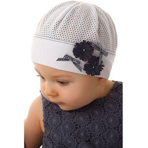 Marika Czapka niemowlęca z bawełny 5x34cn