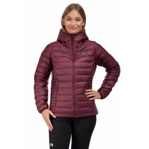 Kurtka down sweater hoody women - dark currant, Patagonia, 34-36
