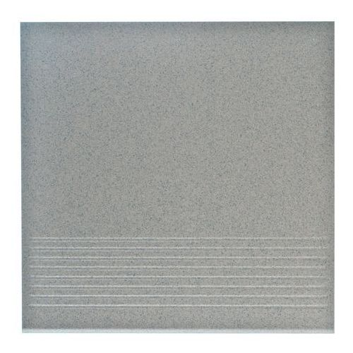 stopnica prosta, gres techniczny, kwazar grys 30 cm x 30 cm marki Ceramika paradyż
