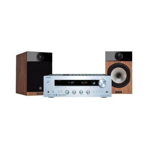 Onkyo Zestaw stereo tx-8250s + fyne audio f303 dąb darmowy transport