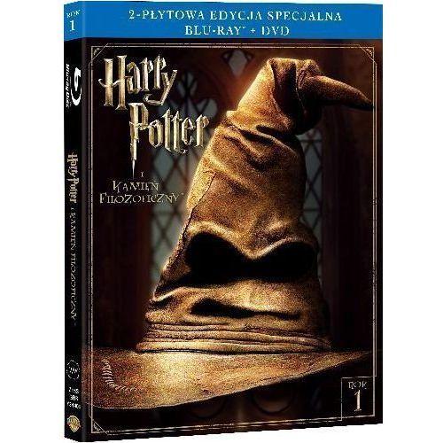 Harry Potter i Kamień Filozoficzny (2-płytowa edycja specjalna) (Blu-Ray) - Chris Columbus DARMOWA DOSTAWA KIOSK RUCHU (7321996203156)