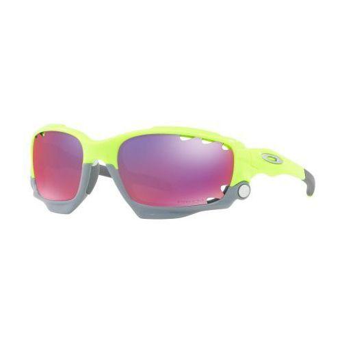 Oakley Okulary racing jacket vented retina burn prizm road + yellow oo9171-3962