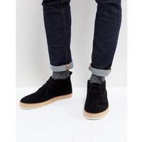 Dune Desert Boots With Espadrille Sole Black - Black, kolor czarny