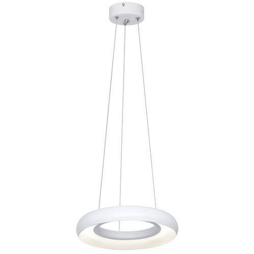 Milagro lampa wisząca rondo bianco led 351