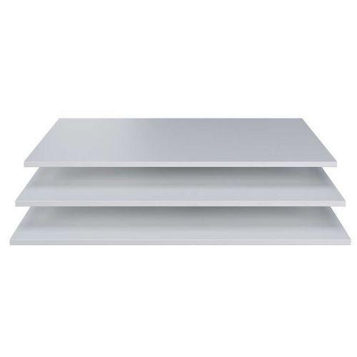 dodatkowe półki do szafy brynn białe [fsc] 373239-w marki Woood