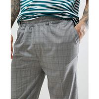 Bellfield trousers with check - beige