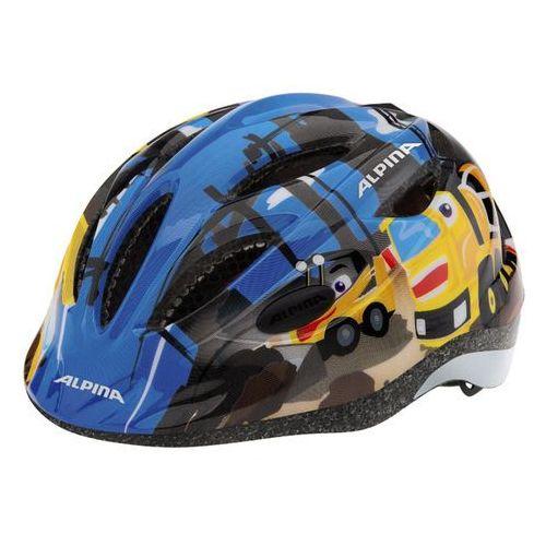Alpina dziecięcy kask rowerowy gamma 2.0 - rozmiar 51-56 - kolor żółty